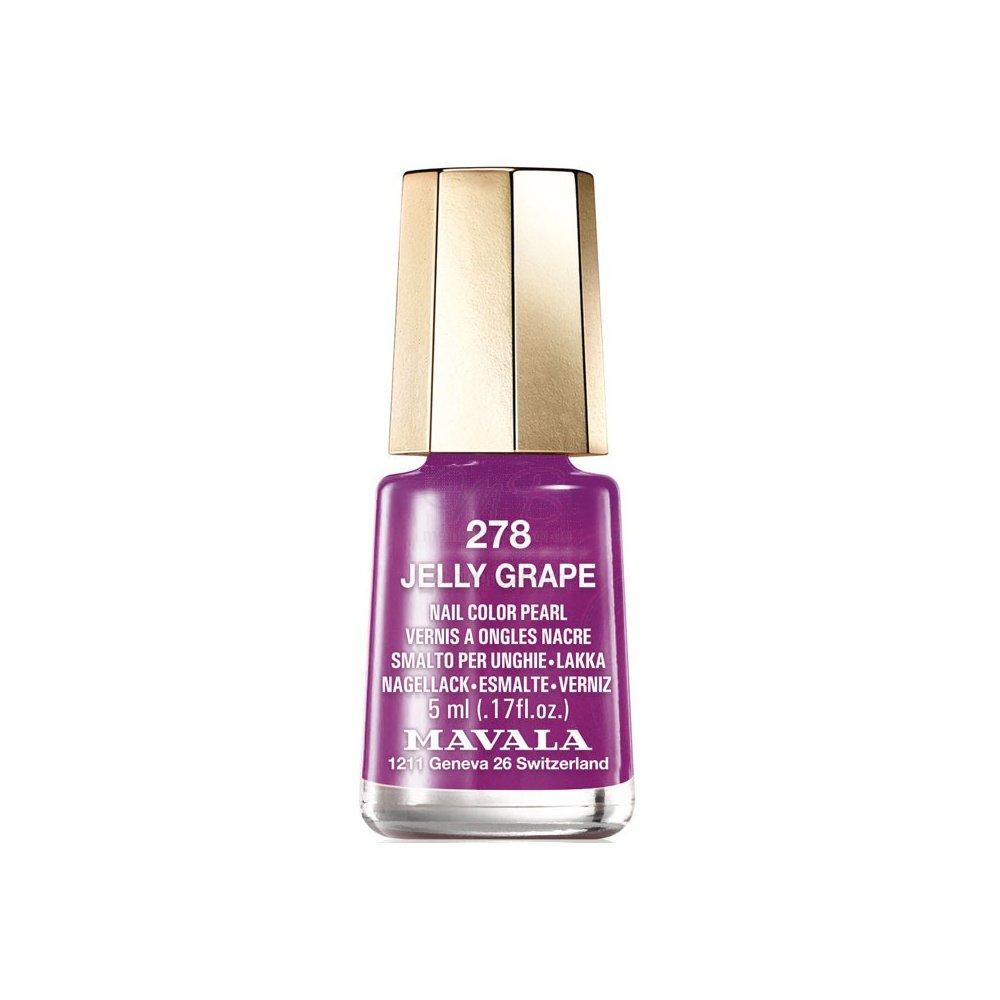 Mavala Mini Color Creme Gel Effect Nail Polish - Jelly Grape (278) 5ml