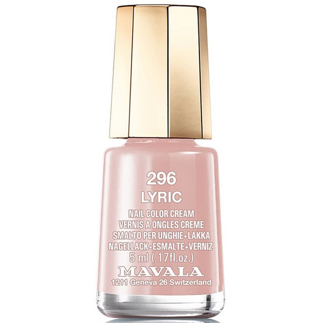 Mavala Mini Color Creme Gel Effect Nail Polish - Lyric (296) 5ml