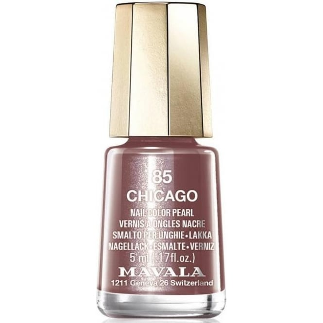 Mavala Mini Color Creme Gel Symphony Effect Nail Polish Collection - Chicago (85) 5ml