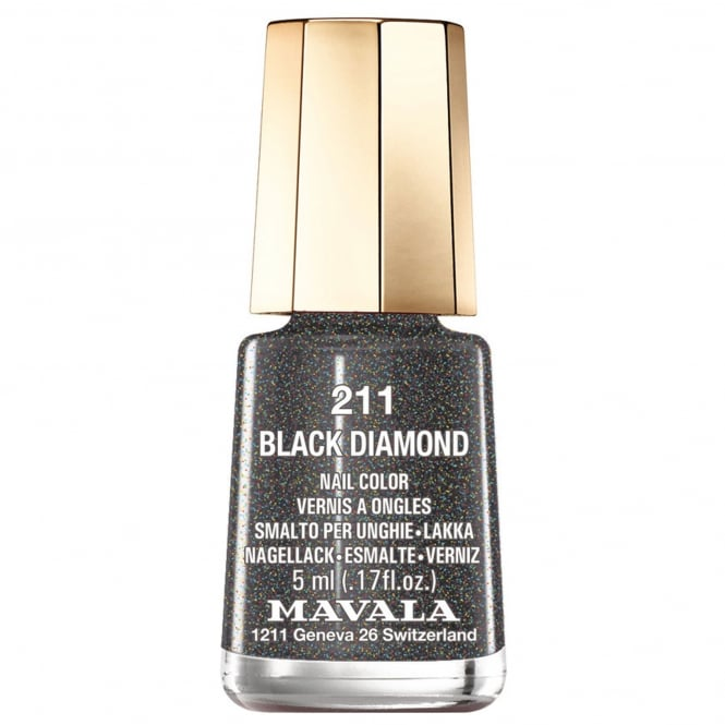 Mavala Mini Color Creme Nail Polish Black Diamond (211) 5ml