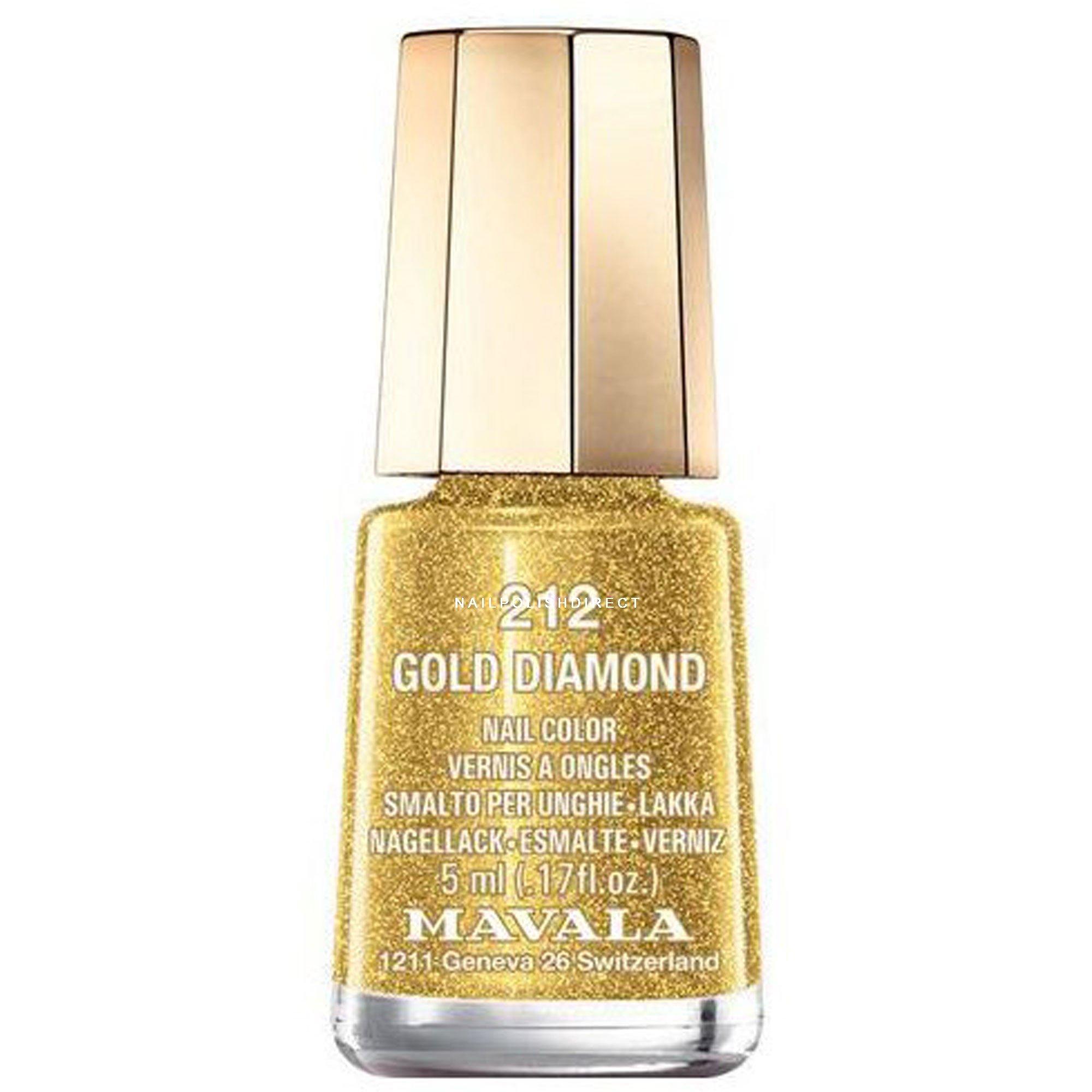 Mavala Mini Color Creme Polish Gold Diamond At Nail Polish