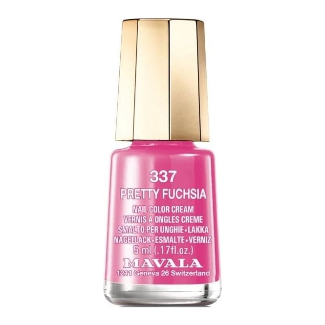 Mavala Mini Color Creme Nail Polish Pretty Fuchsia (337) 5ml