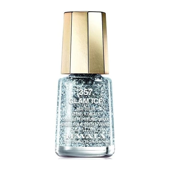 Mavala Mini Color Glitter Glamour 2015 Nail Polish Collection - Glam Ice (357) 5ml