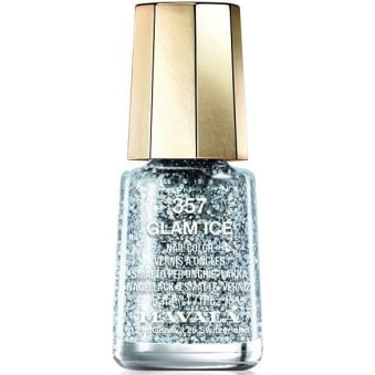 Mini Color Glitter Glamour 2015 Nail Polish Collection - Glam Ice (357) 5ml