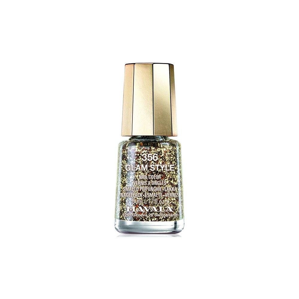 Mavala Mini Color Glitter Gel Glamour Nail Polish