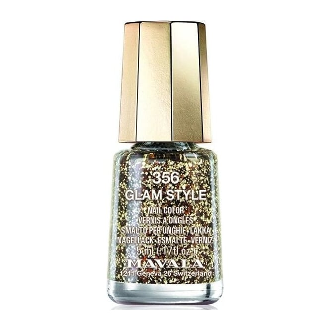 Green Glitter Nail Polish Uk: Mavala Mini Color Glitter Gel Glamour Nail Polish