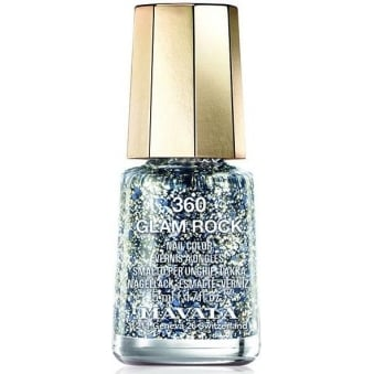 Mini Color Glitter Glamour Nail Polish Collection - Glam Rock (360) 5ml