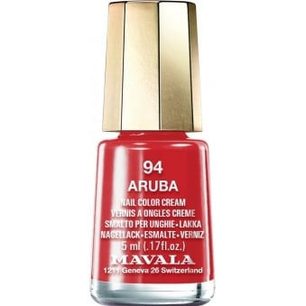 Mini Color Nude 2016 Nail Polish Collection - Aruba (94) 5ml
