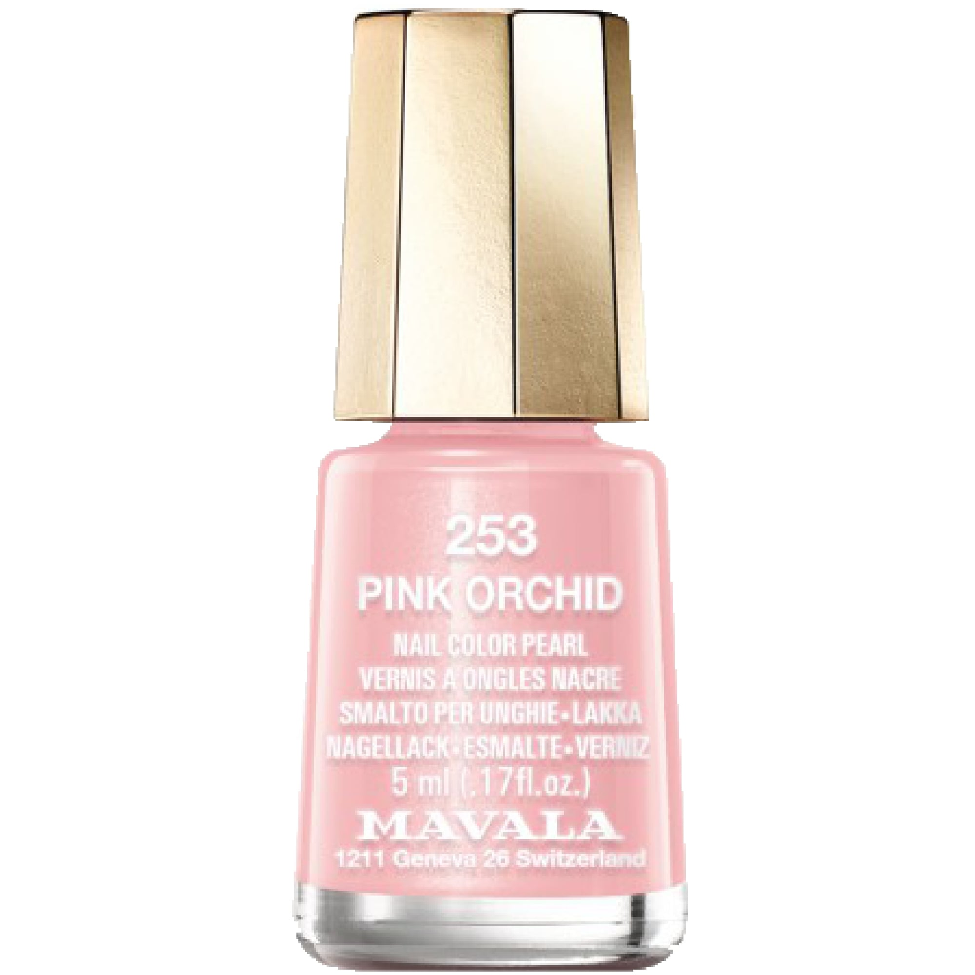 Pink Nail Polish Mini: Mavala Mini Color Pearl Effect Nail Polish
