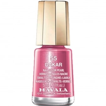 Mini Color Pearl Gel Effect Nail Polish - Dakar (55) 5ml