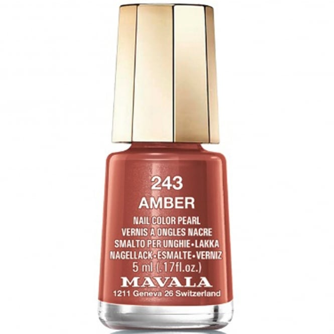Mavala Mini Nail Color Creme Nail Polish - Amber (243) 5ml