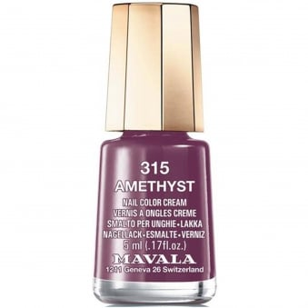 Mini Nail Color Creme Nail Polish - Amethyst (315) 5ml