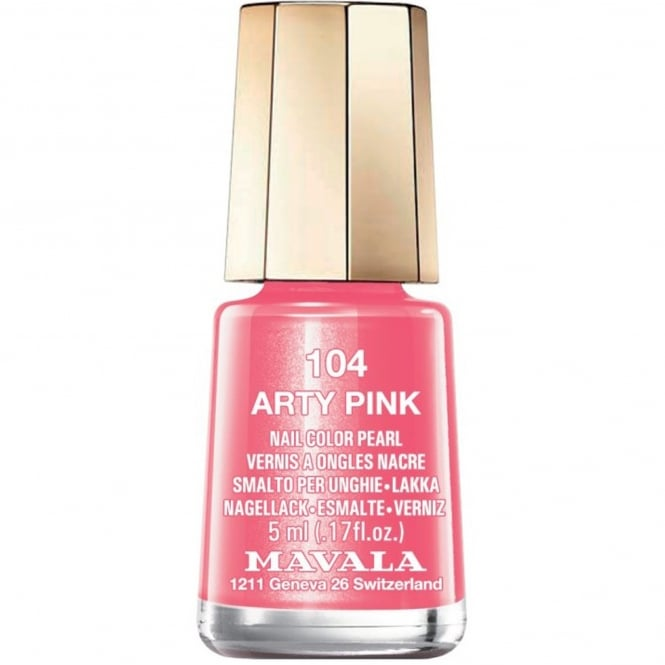 Mavala Mini Nail Color Creme Nail Polish - Arty Pink (104) 5ml