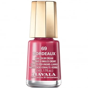 Mini Nail Color Creme Nail Polish - Bordeaux (69) 5ml