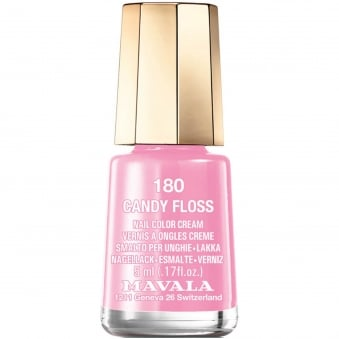 Mini Nail Color Creme Nail Polish - Candy Floss (180) 5ml