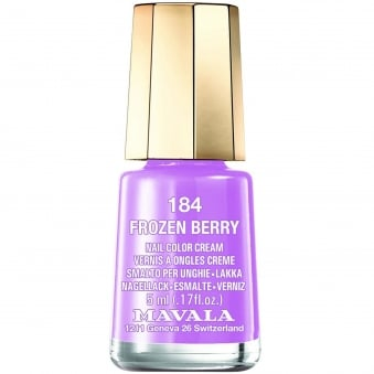 Mini Nail Color Creme Nail Polish - Frozen Berry (184) 5ml