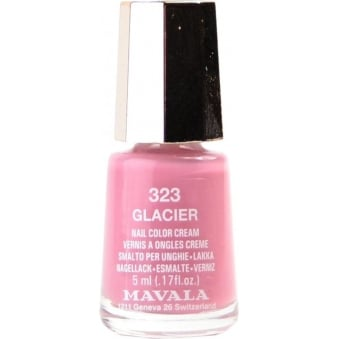Mini Nail Color Creme Nail Polish - Glacier (323) 5ml