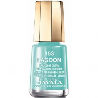 Mini Nail Color Creme Nail Polish - Lagoon (153) 5ml