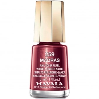 Mini Nail Color Creme Nail Polish - Madras (259) 5ml