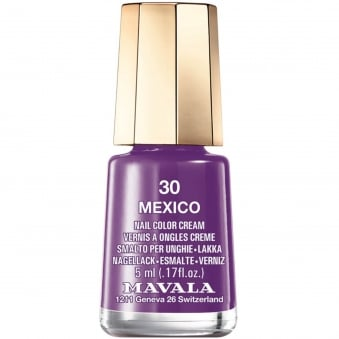 Mini Nail Color Creme Nail Polish - Mexico (30) 5ml