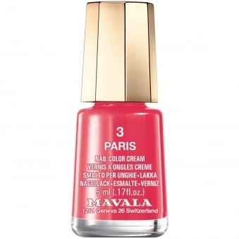 Mini Nail Color Creme Nail Polish - Paris (3) 5ml