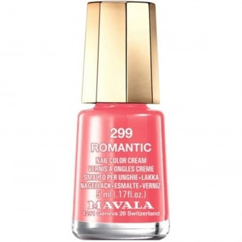 Mini Nail Color Creme Nail Polish - Romantic (299) 5ml