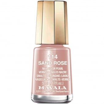 Mini Nail Color Creme Nail Polish - Sand Rose (114) 5ml