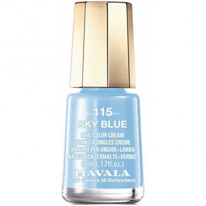 Blue Nail Varnish Uk: Mavala Mini Nail Color Creme Nail Polish