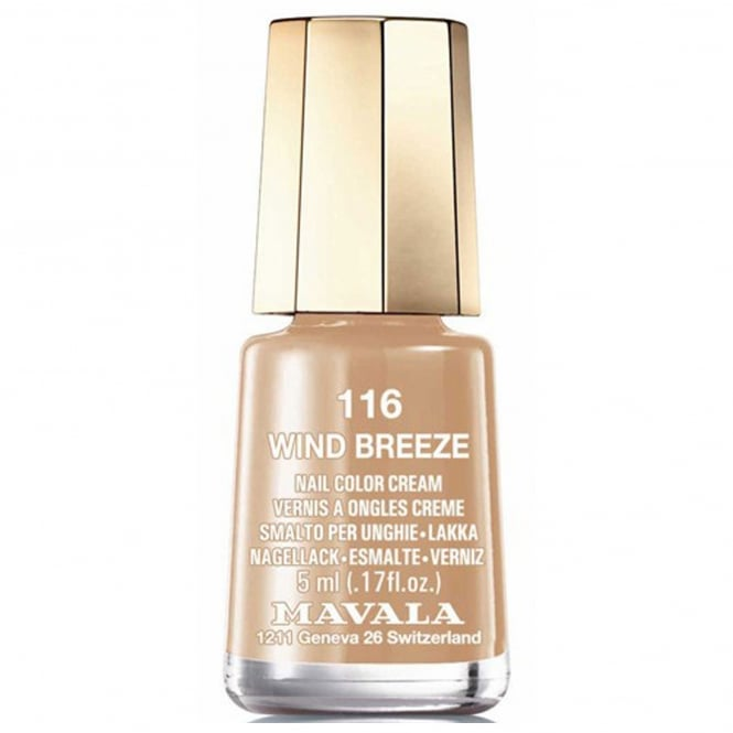 Mavala Mini Nail Color Creme Nail Polish - Wind Breeze (116) 5ml