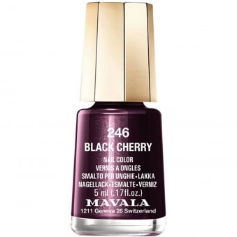 Mini Nail Color Nail Polish - Black Cherry (246) 5ml