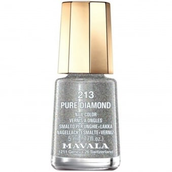 Mini Nail Color Nail Polish - Pure Diamond (213) 5ml