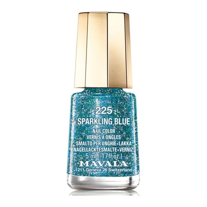 Mavala Mini Nail Color Nail Polish - Sparkling Blue (225) 5ml