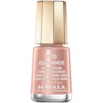Mini Nail Color Pearl Nail Polish - Elegance (370) 5ml