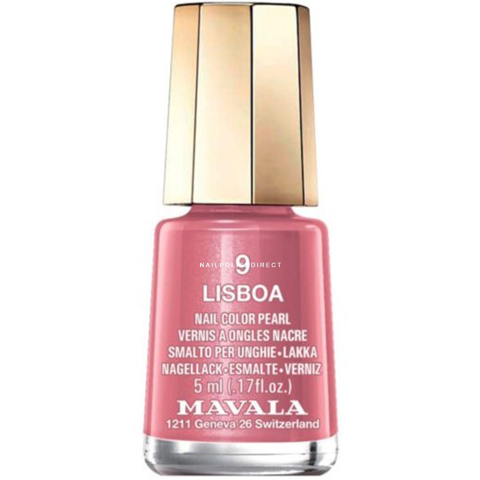 Mavala Mini Nail Color Pearl Nail Polish - Lisboa (9) 5ml