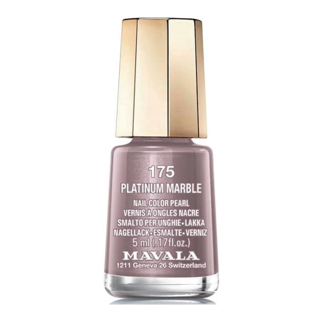 Mavala Mini Nail Color Pearl Nail Polish - Platinum Marble (175) 5ml