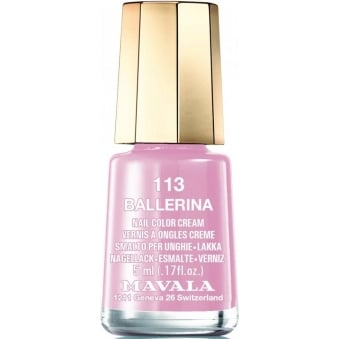 Mini Nude Colours 2015 Matte Nail Polish Collection - Ballerina (113) 5ml