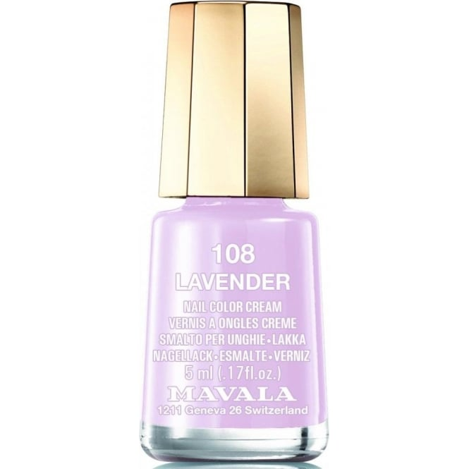 Mavala Mini Nude Colours 2015 Matte Nail Polish Collection - Lavender (108) 5ml