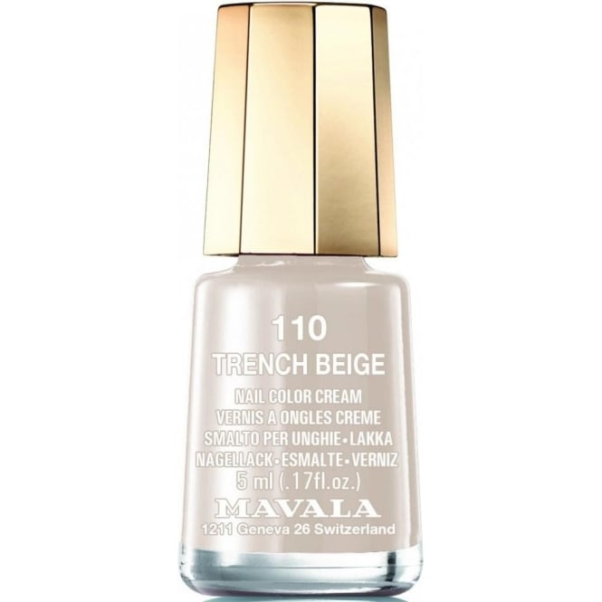 Mavala Mini Nude Colours 2015 Matte Nail Polish Collection - Trench Beige (110) 5ml
