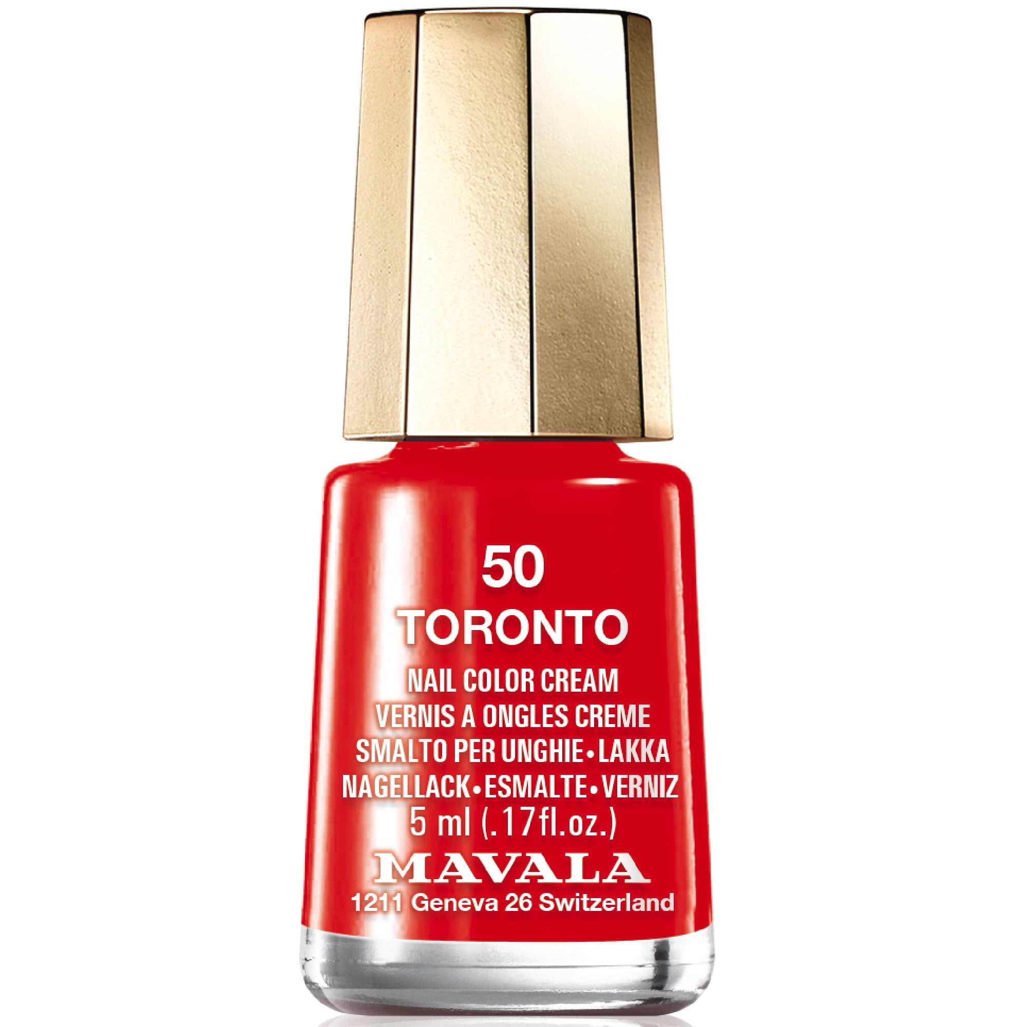 Mavala New Look Color\'s 2017 Nail Polish Collection - Toronto (50) 5ml