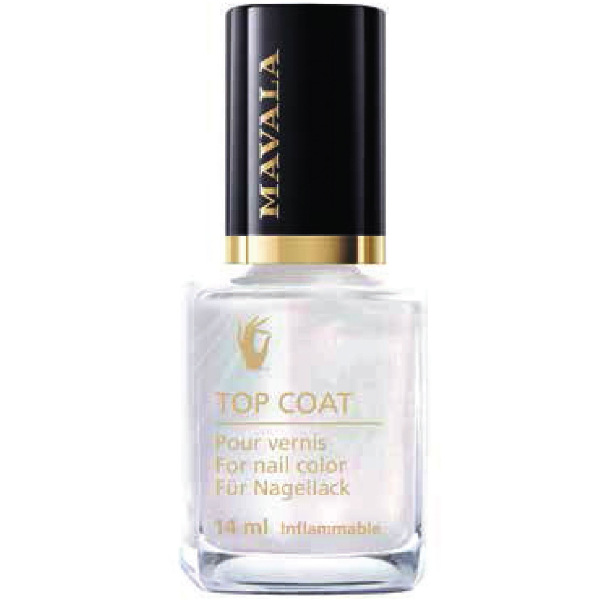 Pink Nail Polish Top Coat: Mavala Star Top Coat Collection