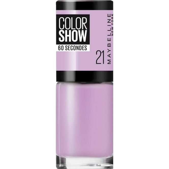 Maybelline Maybelline Color Show Nail Polish - Lilac Wine (21) 7ML
