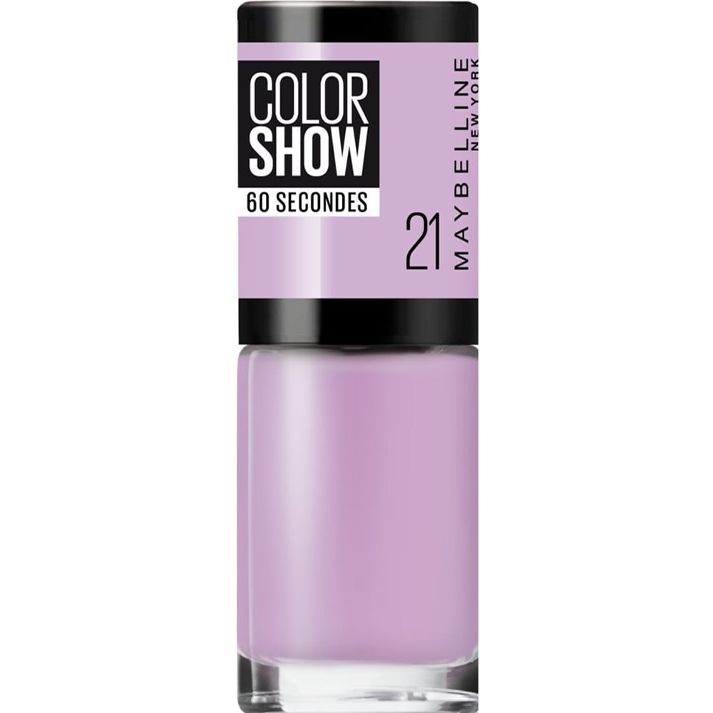 Maybelline Color Show Nail Polish - Lilac Wine (21) 7ML