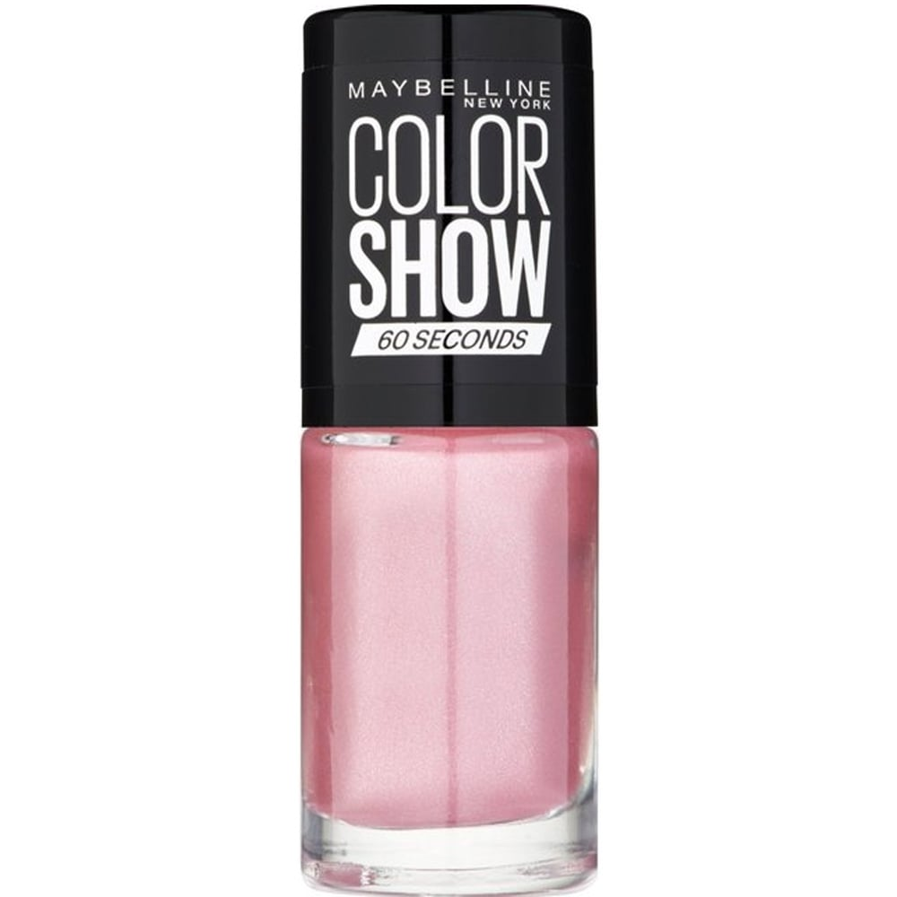 Maybelline color show nail polish pink slip 327 7ml for 24 hr nail salon nyc