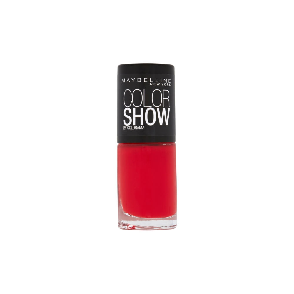 Maybelline Color Show Nail Polish - Power Red 7ml (349)