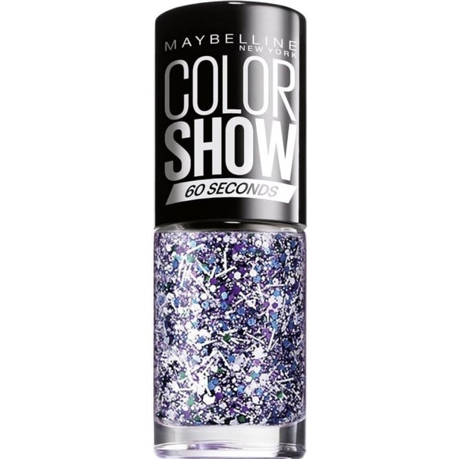 Maybelline Maybelline Color Show Nail Polish - White Splatter Top Coat (02) 7ML