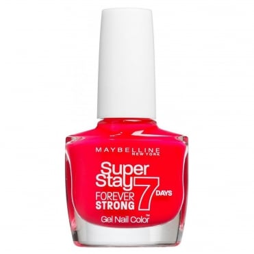 Forever Strong Super Stay Gel Nail 7 Day wear - Hot Rose Salsa 10ml (490)