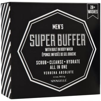 Mens Body Wash Infused Buffer - Verbena Absolute 99.2g