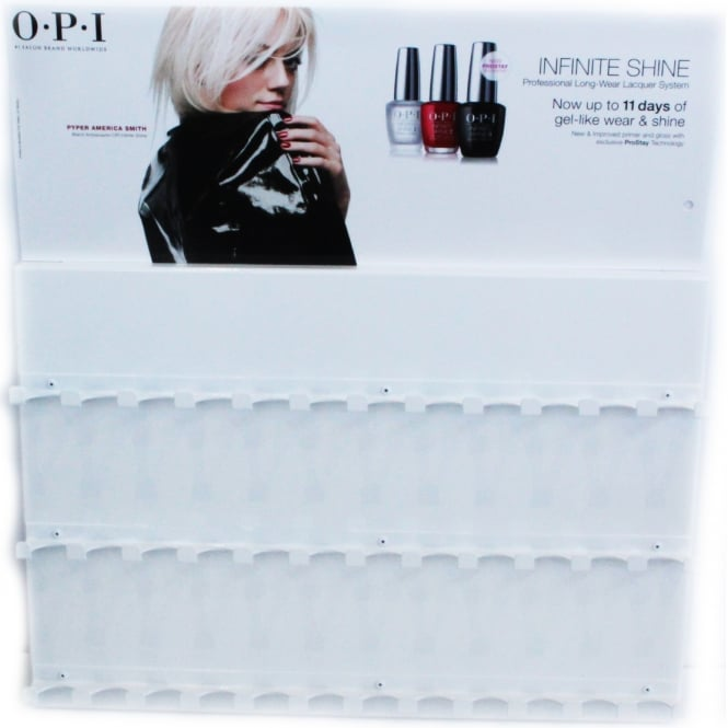 OPI Metal Nail Polish Display Holder - White (36 x Piece Stand)