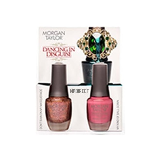 Morgan Taylor Midnight Masquerade Nail Polish Collection 2014 - Dancing In Disguise (x2 15ml)
