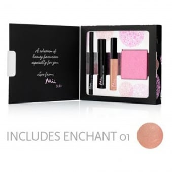 Beauty Favourites Christmas Gift Set Collection 1 - From Mii To You (3 Piece Set + Pink Mirror)